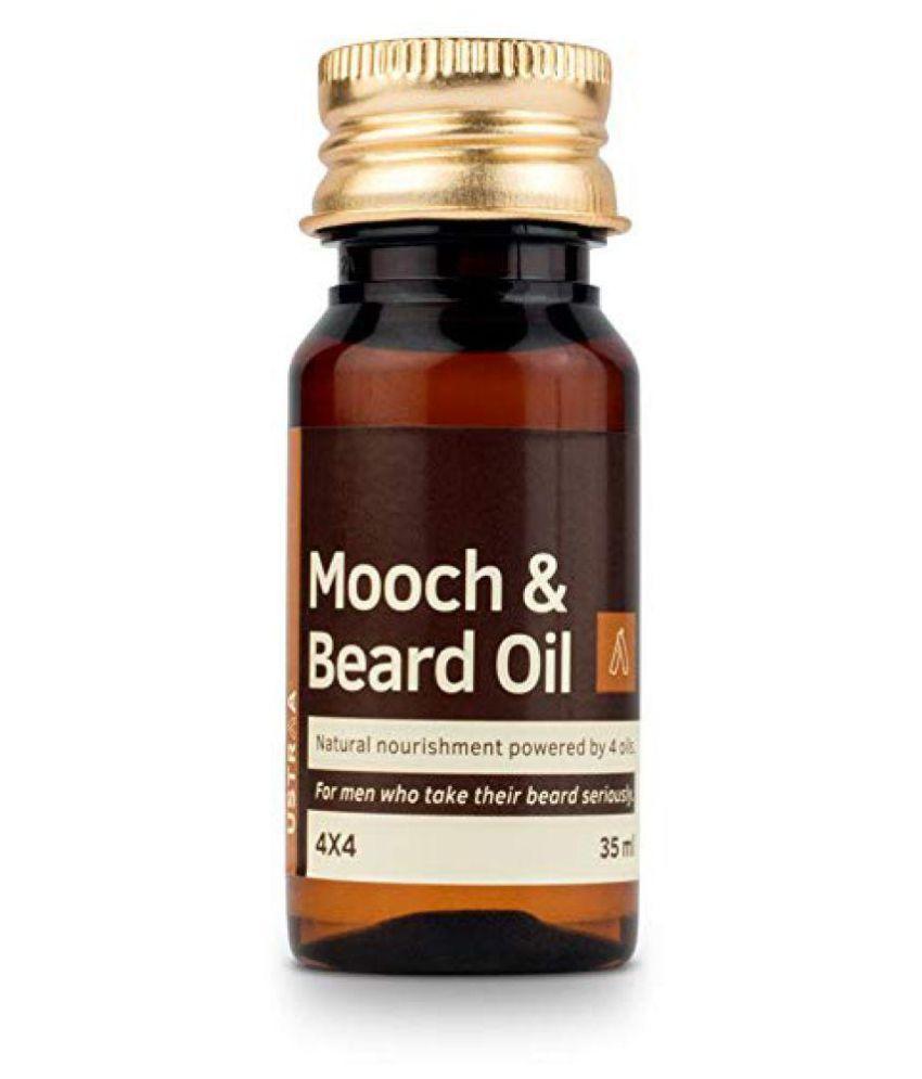 Mooch and Beard OIl Hair Oil For Man Carrier Oil 35 ml