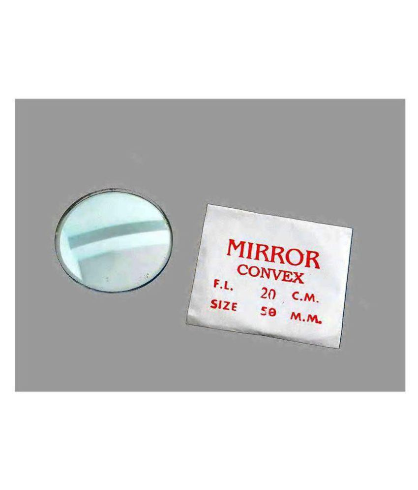 Concave and Convex mirror and lenses (SET OF 4)