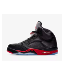 release date: 32d3f fc12f Nike Jordan 5 Retro Black Basketball Shoes