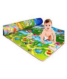 Samaaya Waterproof, Anti Skid, Double Sided Baby Crawling Play Mat (Green, 6x4ft)