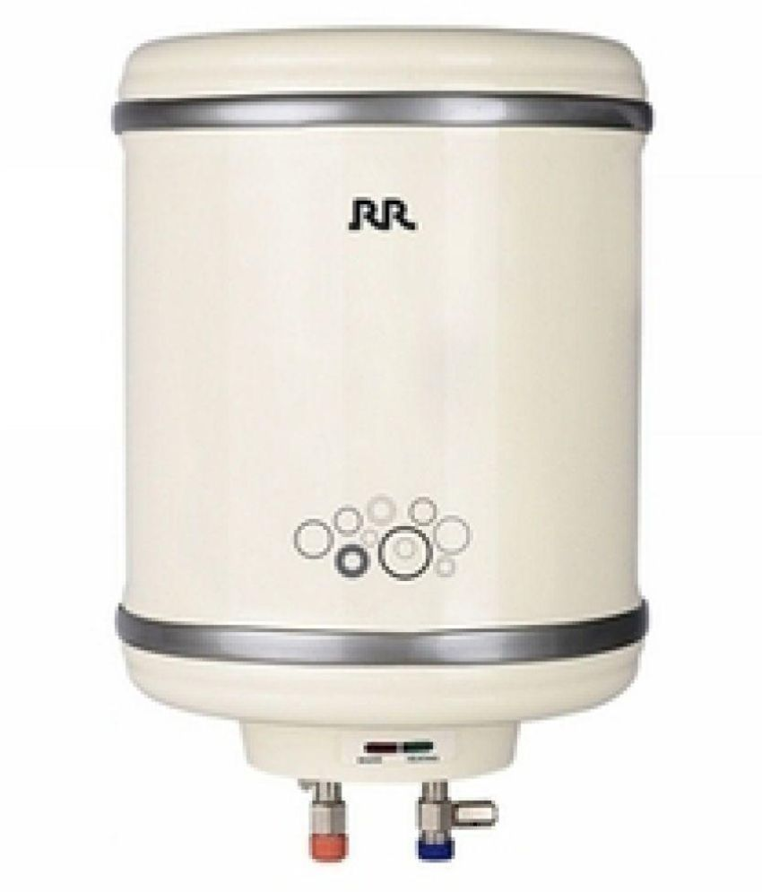 RR ELECTRIC 10 Ltr SUPREMUS Storage - Geysers White