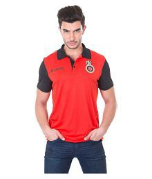 90669a15e9 Quick View. Royal Challengers Bangalore (RCB) Official Tshirt by Zeven Red Half  Sleeve ...