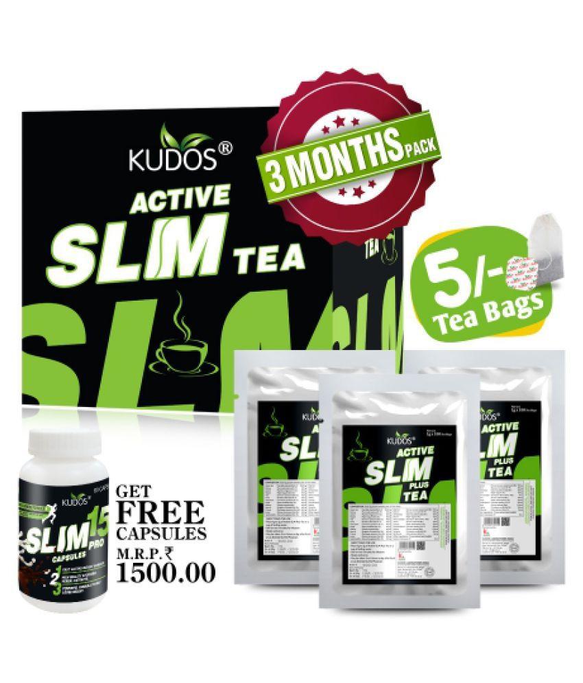 Kudos Ayurveda KUDOS ACTIVE SLM TEA Powder 1 gm