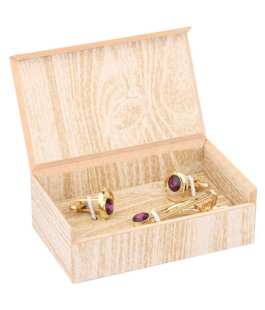 ELLIS Purple Brass & Copper etc Tie-pins & Kurta Buttons