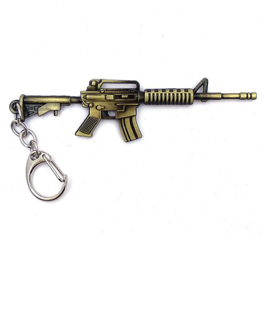 1//6 1:6 M416 PUBG BattleField4 Gun MOD0 Sniper Rifle Modern Warfare 21cm METAL
