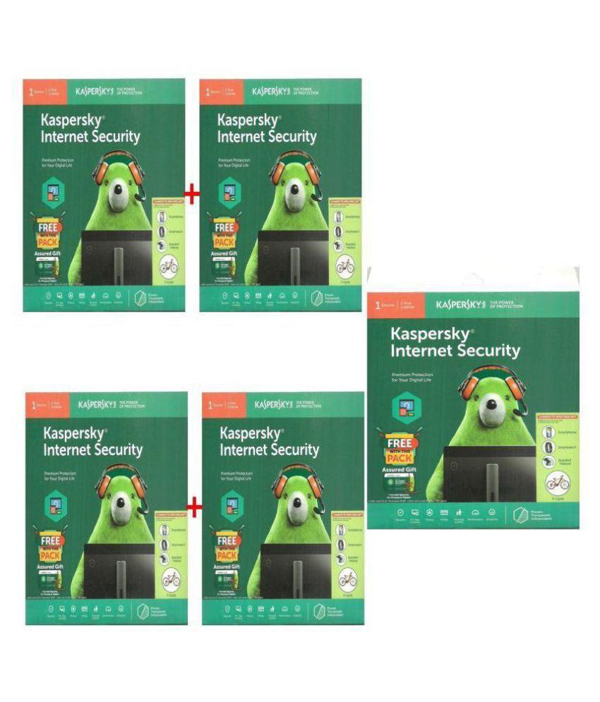 Kaspersky Internet Security 2019   5 PC / 1 Year     CD