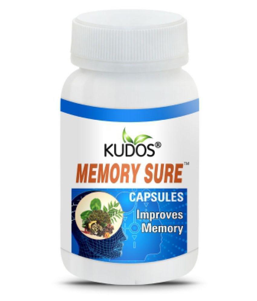 Kudos Ayurveda Memory Sure Capsules Capsule 60 gm Pack Of 1