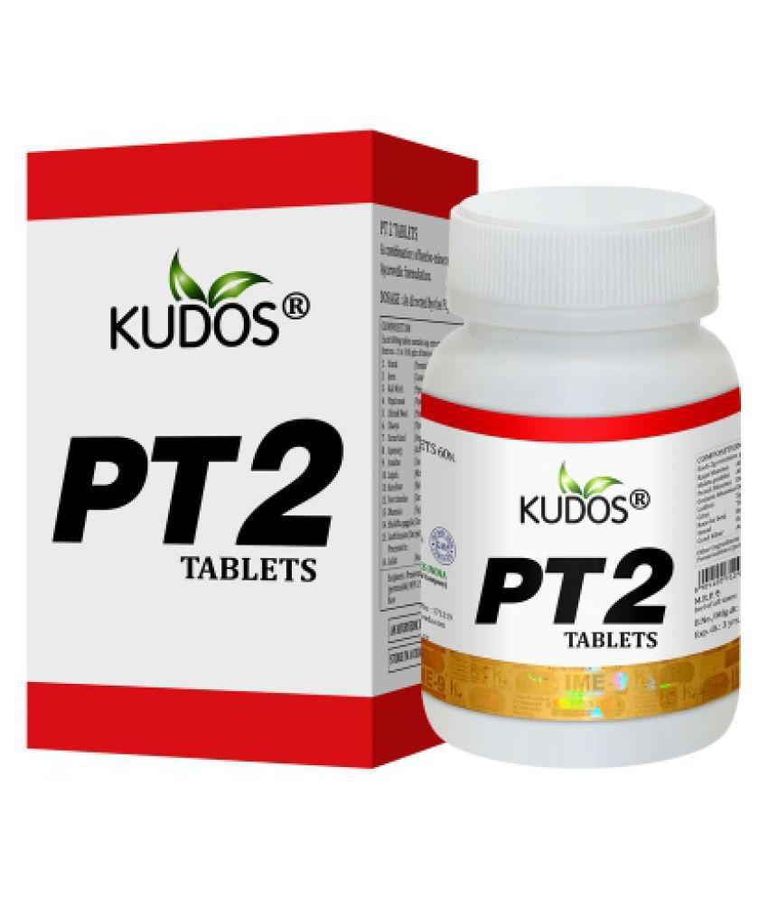 Kudos Ayurveda PT2 Tablet 60 no.s