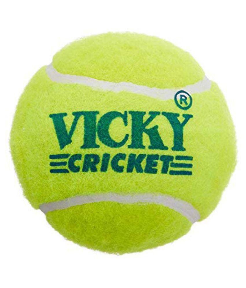 VICKY CRICKET TENNIS BALL 6