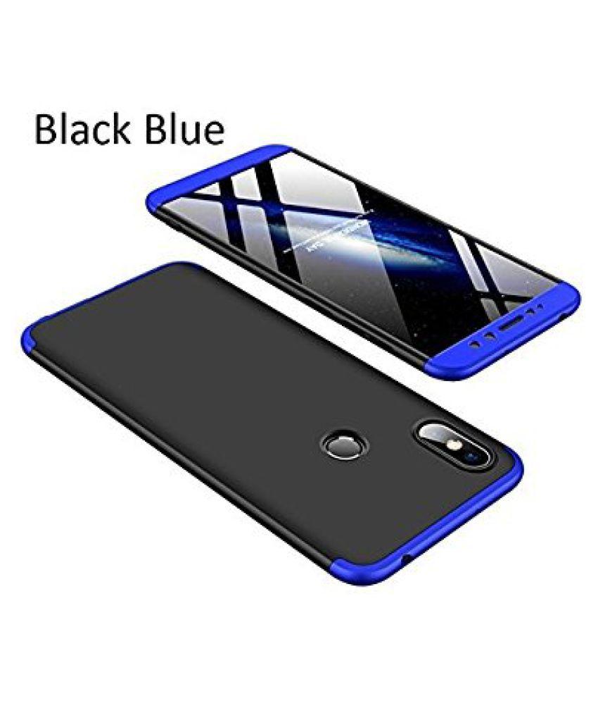 Samsung Galaxy J7 Duo Hybrid Covers BeingStylish - Blue Original GKK Double Dip Luxury 360° Case