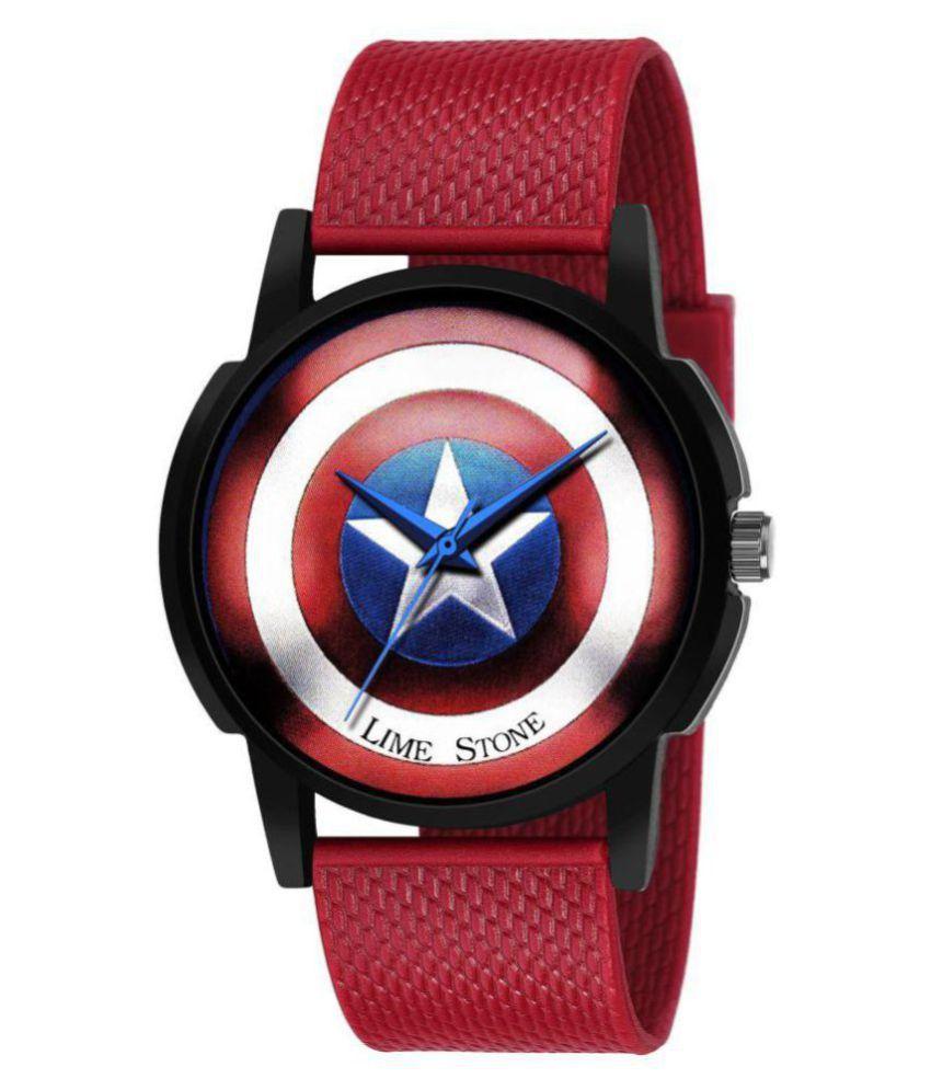 Captain America Analog Watch
