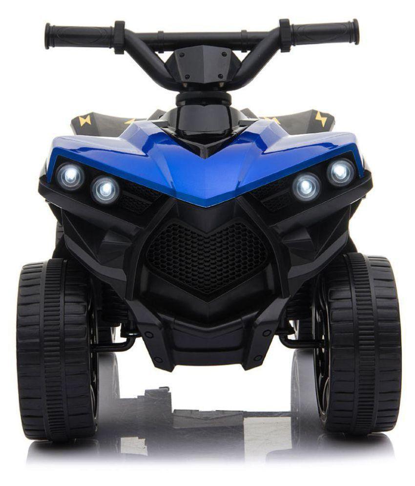 HappyKids 6v Electric Mini Kids Ride-On Quad Bike for 2 to 3 year kids
