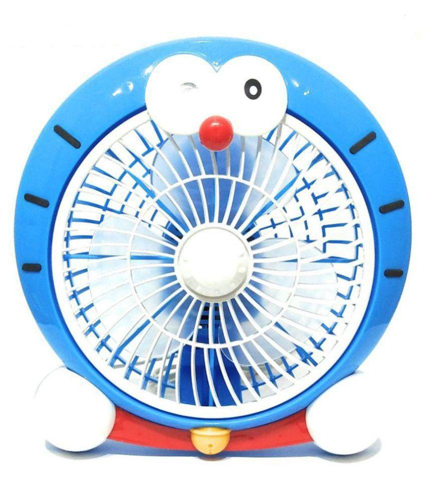 sardar ji toys 250 Plastic  Portable TableFan Blue