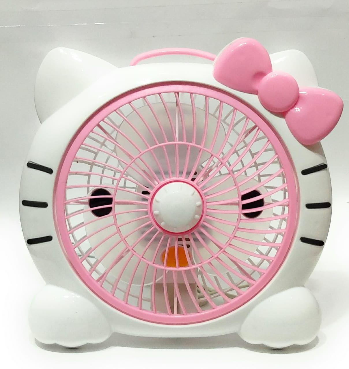 sardar ji toys 250 Portable Plastic TableFan Pink