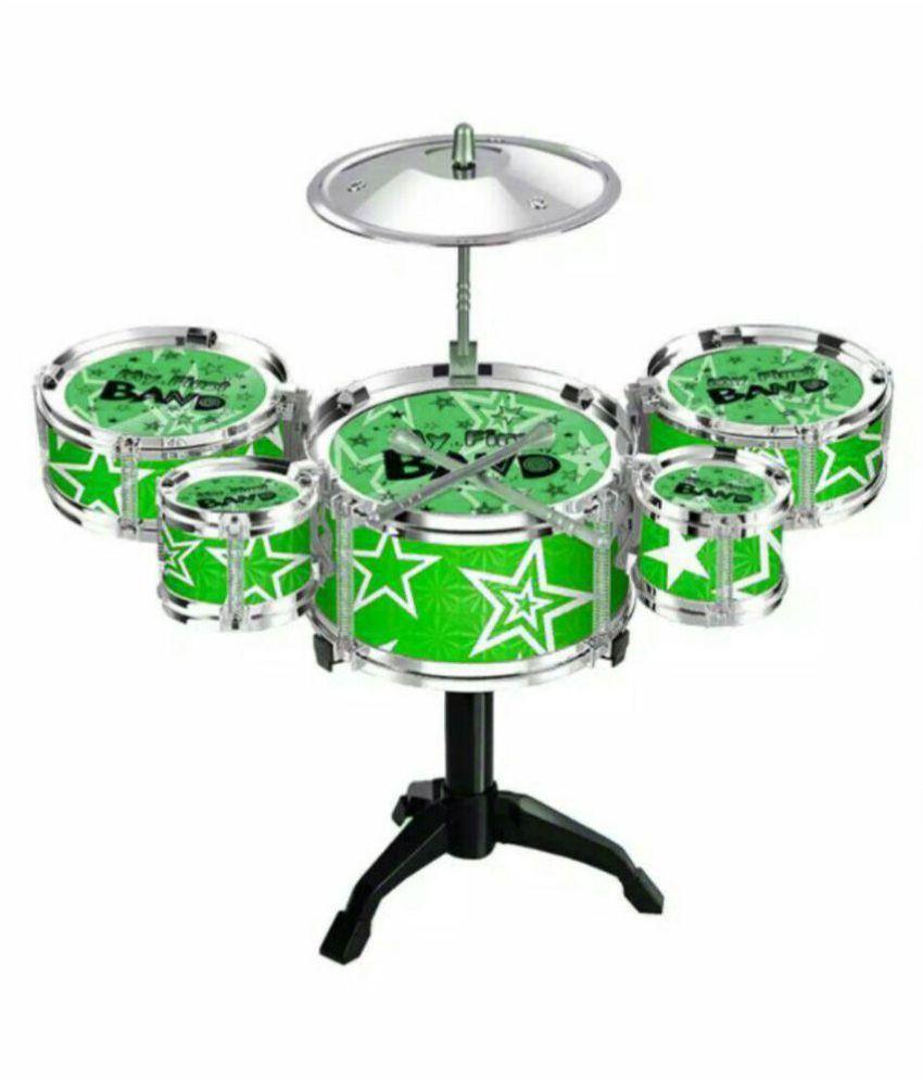OH BABY;BABYMini Jazz Drum Percussion Instruments Set Kit Musical Toys Random SE-ET-188
