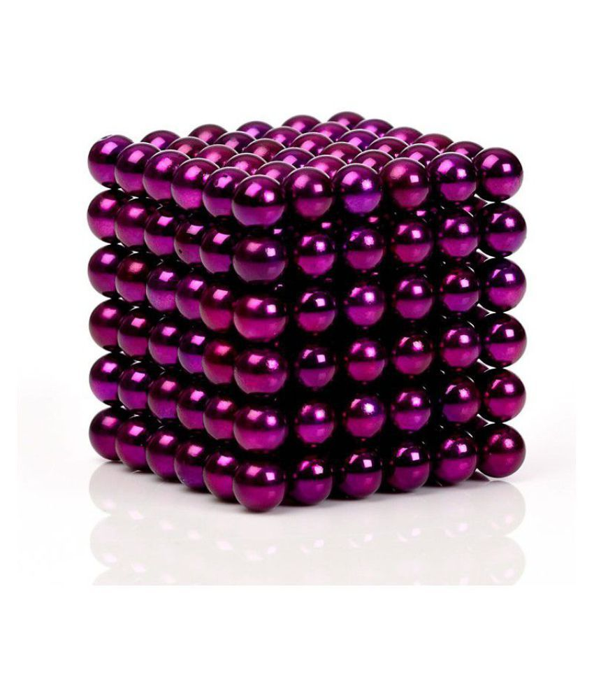 Neomag OD5mm - Purple  Bucky Ball Sphere Neodymium (216 Pieces) Grade N35- Ni