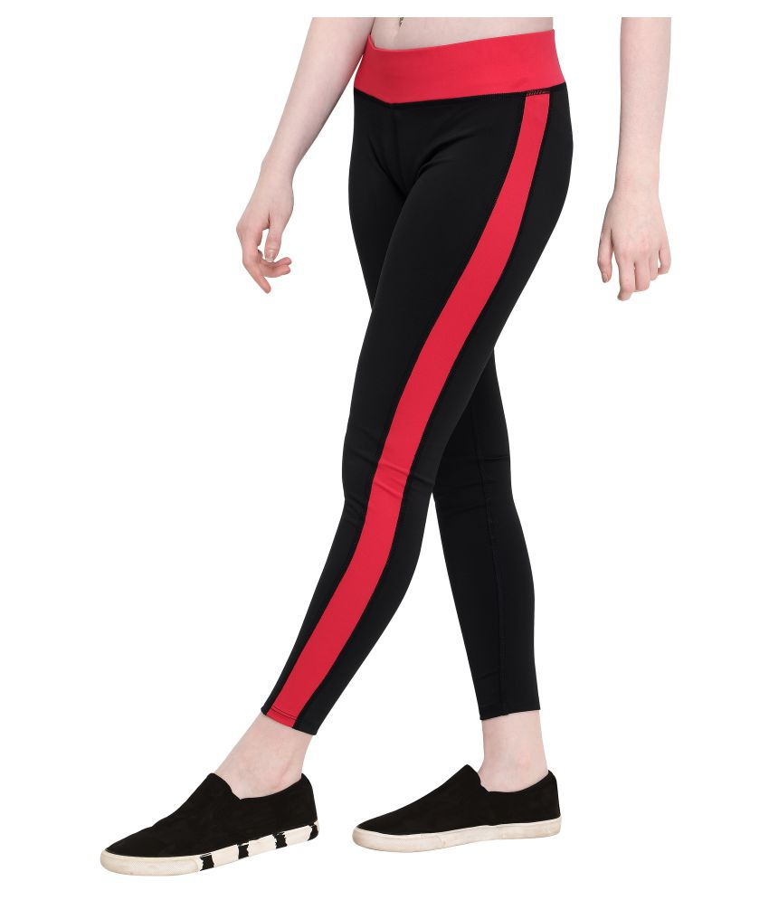 She Knows It Polyester Tights - Black