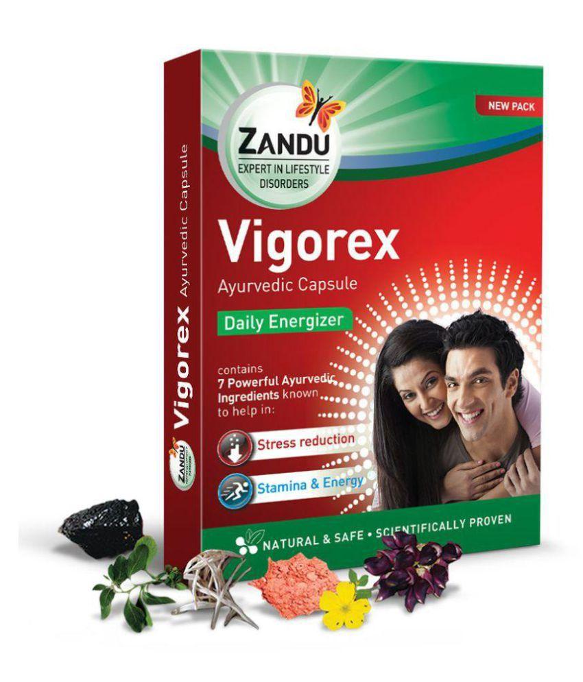 Ayurveda Cure Zandu Vi gorex 10 x 7 = 70 Capsule 70 no.s