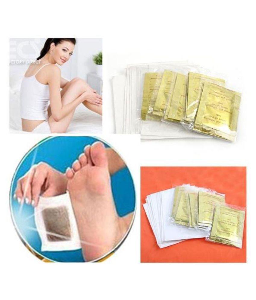 10 PCS Foot Pads GOLD Premium Kinoki Detox  Organic Herbal Cleansing Patches