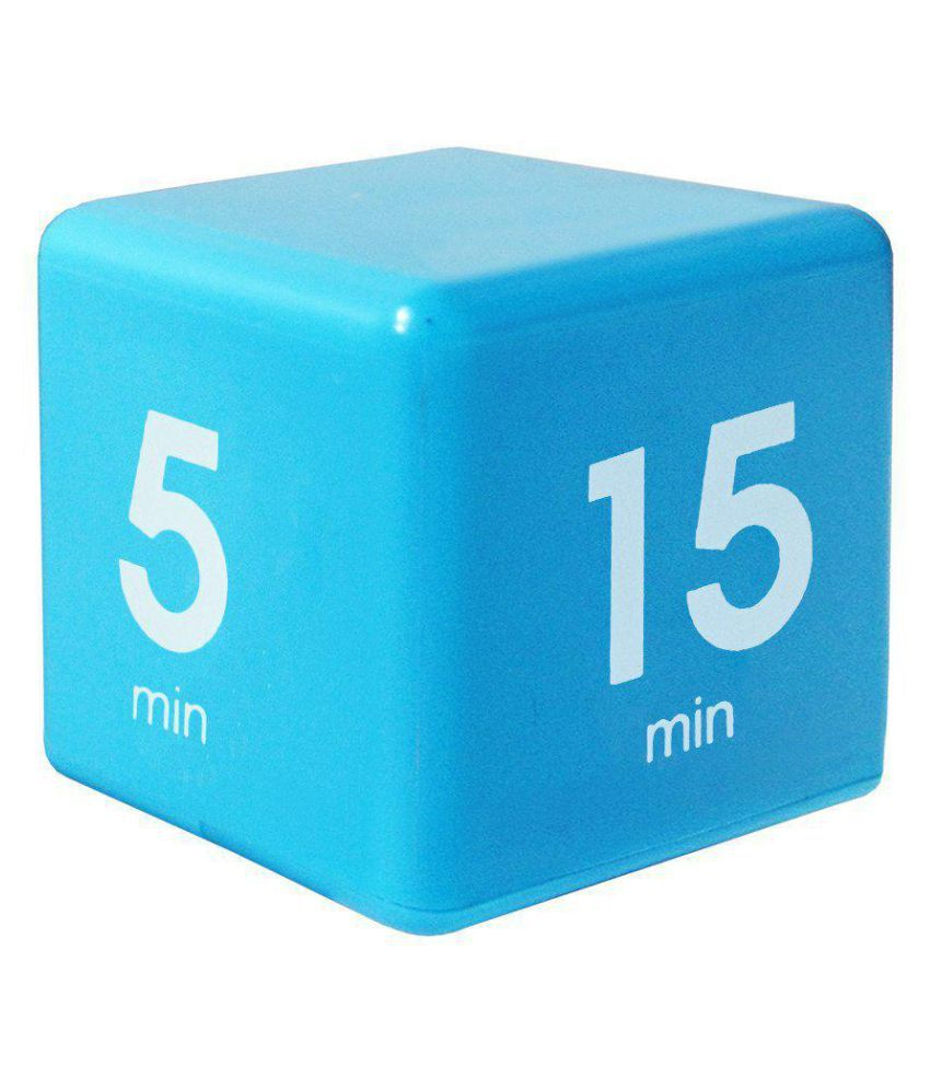 The Miracle Time Cube Timer 5/15/30/60 Minutes For Management Kitchen Kids  Timer Workout Time
