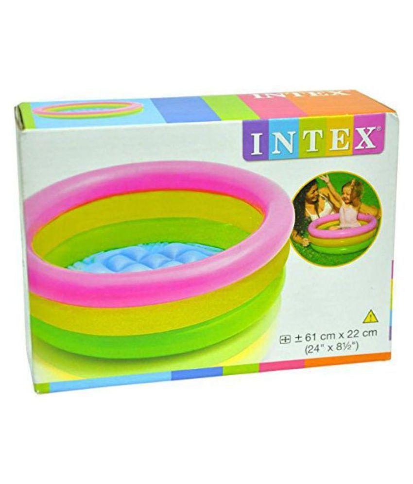 Shiv International 2Feet Inflatable Kids Swimming Pool Tub