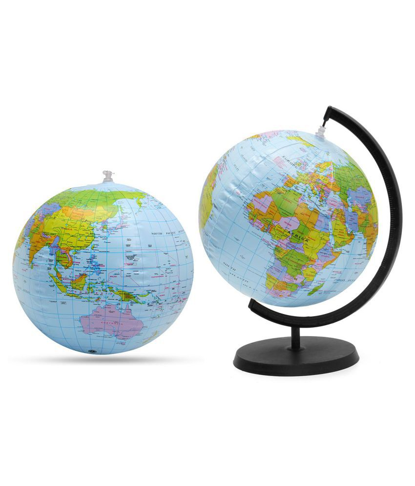 30cm Geography Terrestrial Globe World Globe Map Ball Ornaments Fashion  Home Office Decoration Craft Gift For Kids Toy