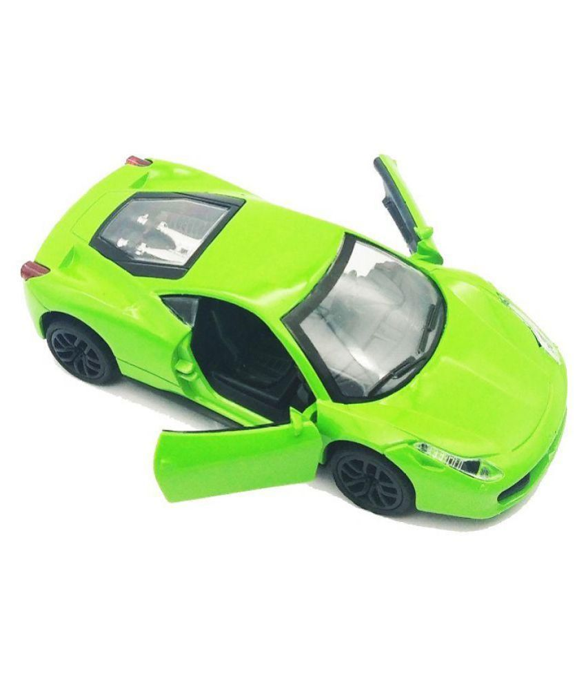 Ferrari Speciale Diecast Car Toy with Openable Doors and Light and Sound  Effects