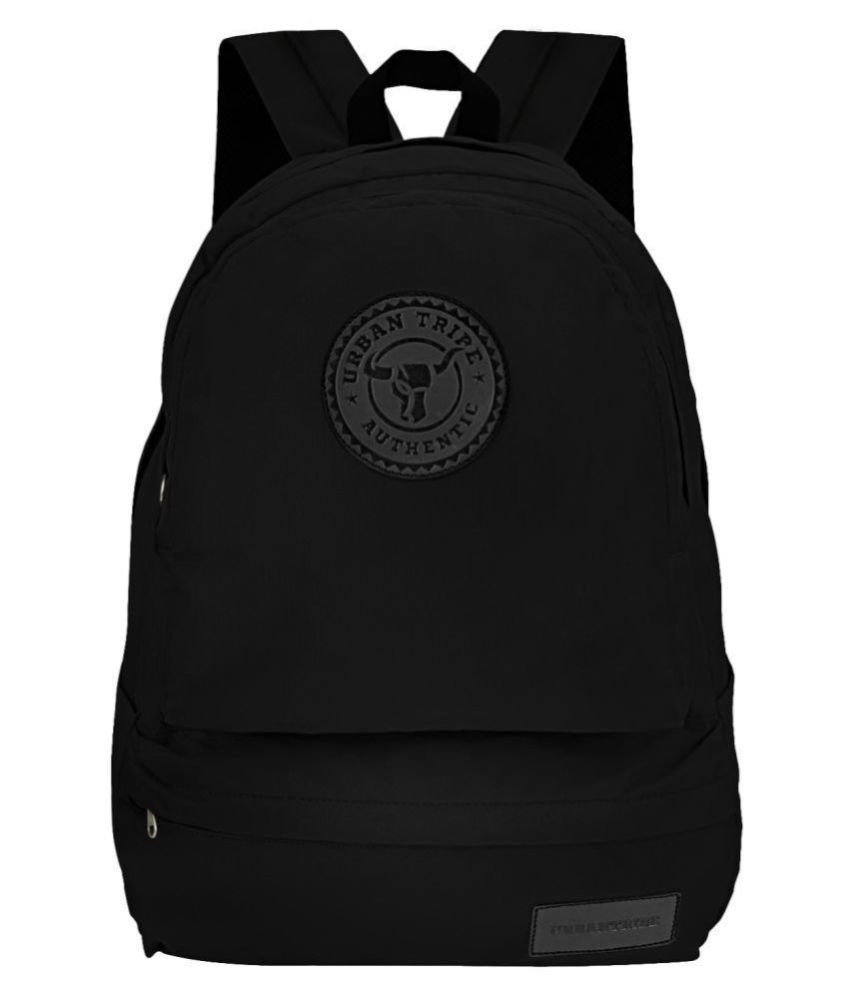 Urban Tribe Black Backpack