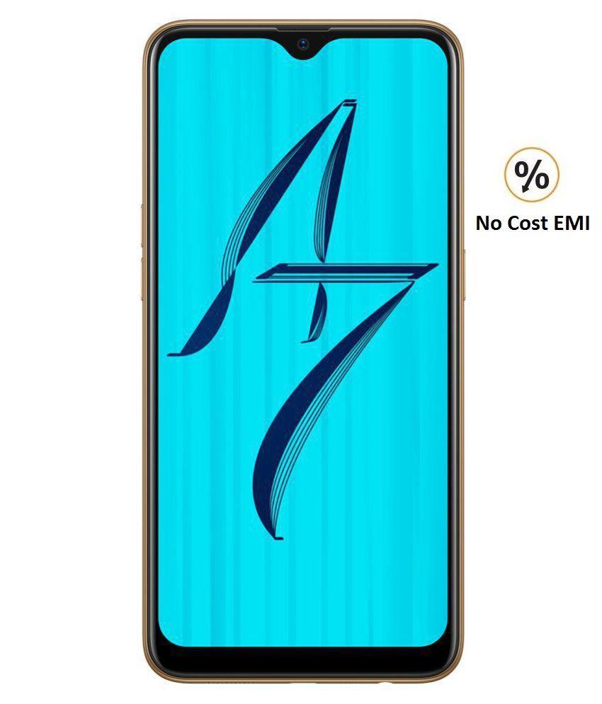 OPPO A7 ( 64GB , 4 GB ) Gold