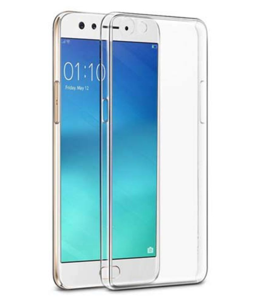 Oppo F3 Soft Silicone TPU Transparent Back Case Cover With Free 360 Degree Rotating Metal Ring Holder by D DESIGN