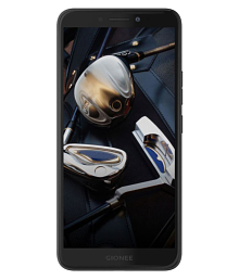 Gionee F205 ( 16GB , 2 GB ) Black Gold