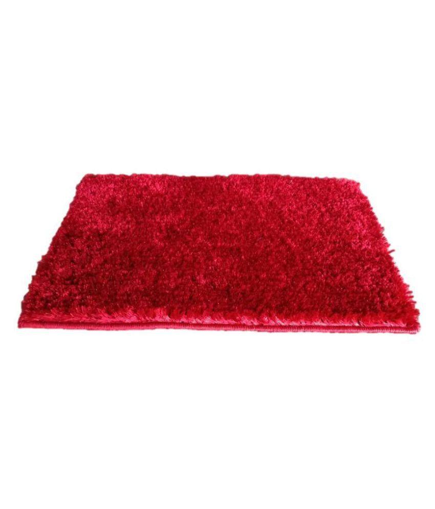 The Onliest Store Red Single Anti-skid Floor Mat