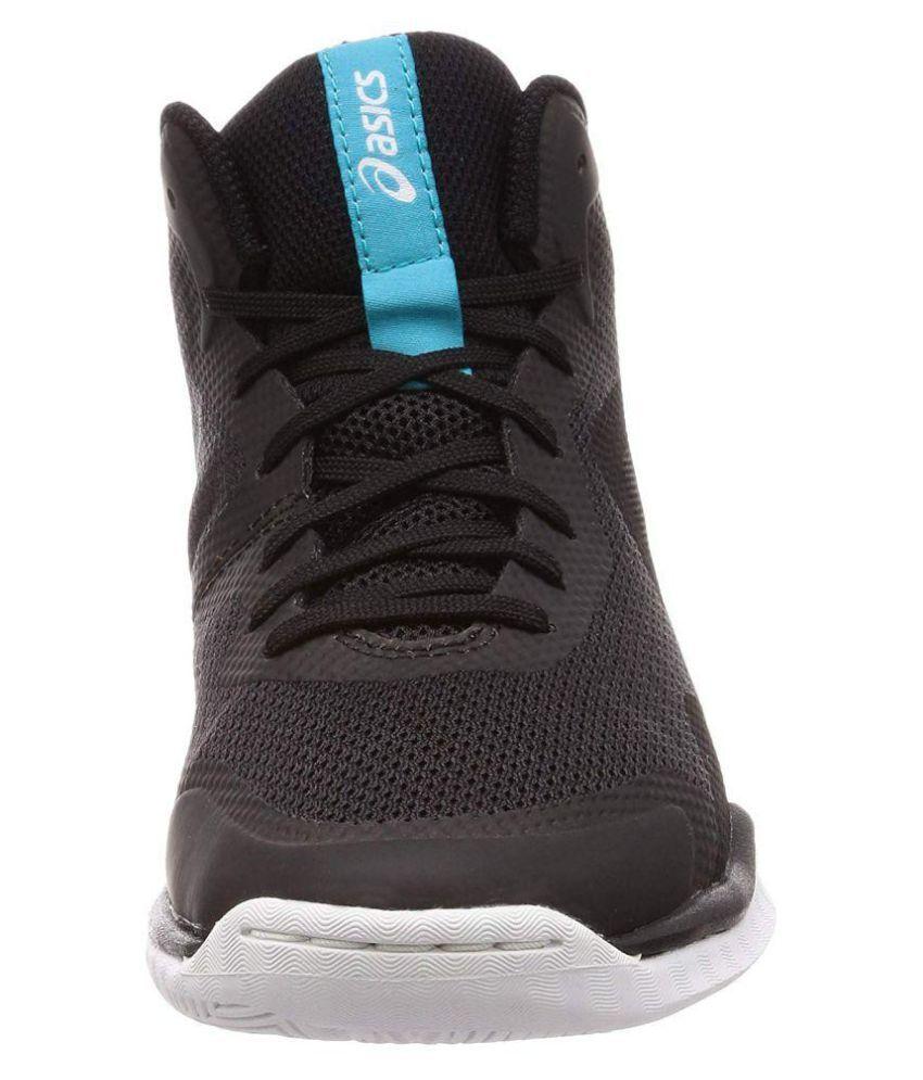 Lyte Nova Black Basketball Shoes