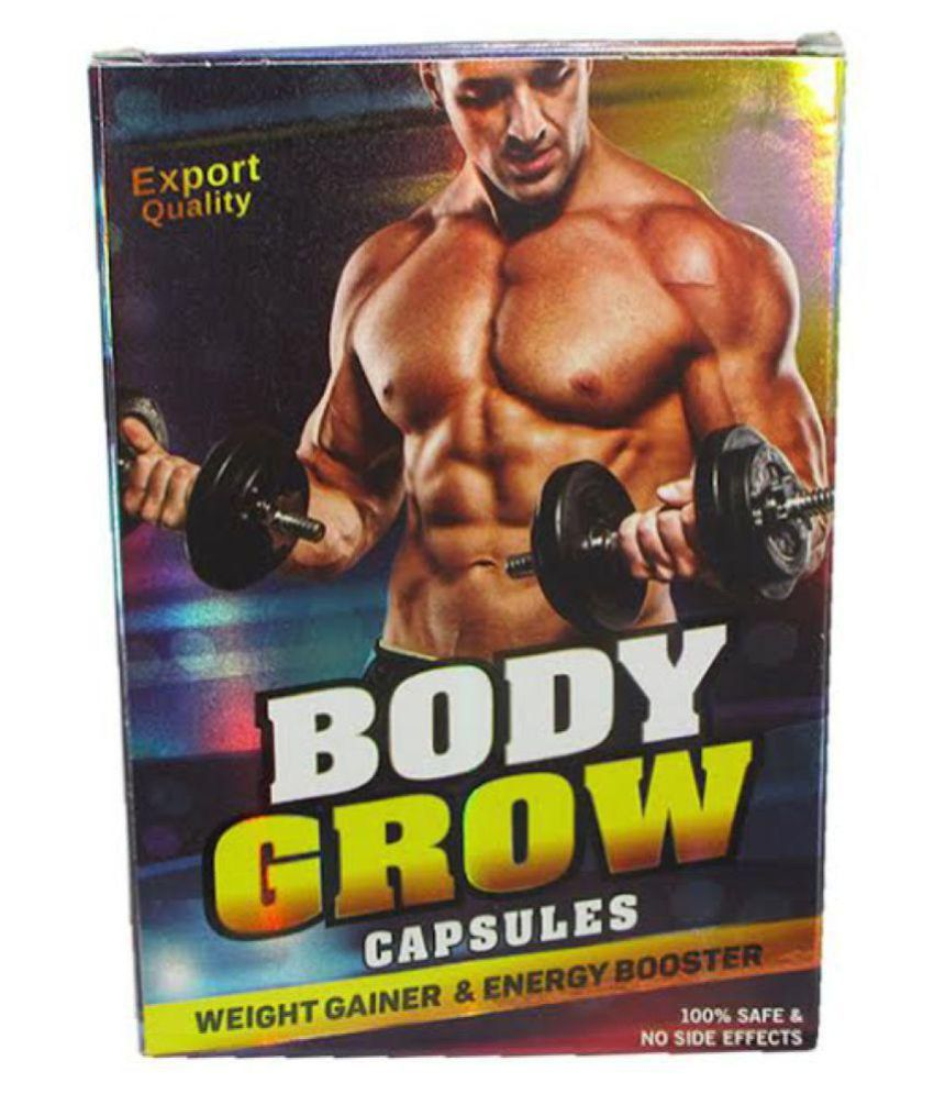 Ayurveda Cure Body Grow Capsule 30 no.s Mass Gainer Tablets