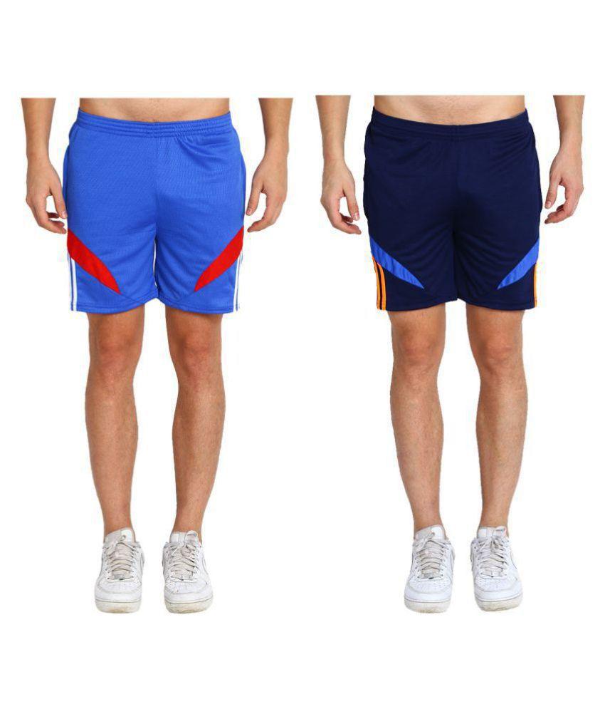 M.R.D. Multi Shorts Combo