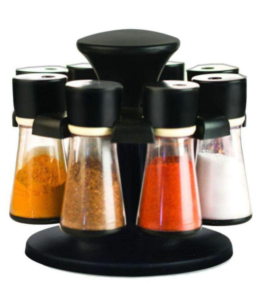 SKYHEART SPICE CONSet of 8 Polycarbonate Spice Container Set of 1 200 ml
