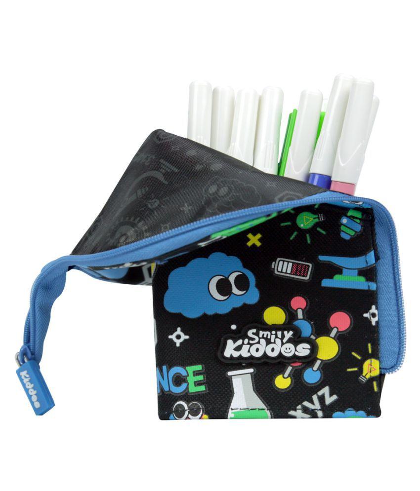 Angry Birds Pencil Pouch Case School Boys Black
