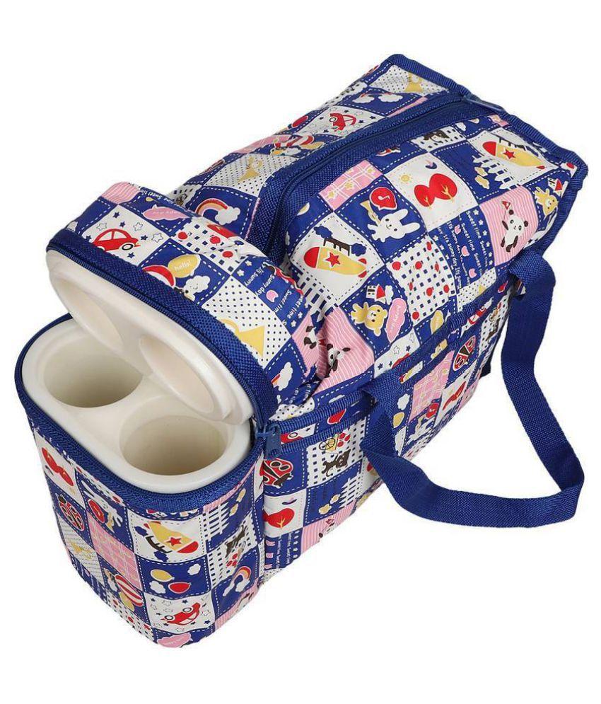 Vinsh Red Polyester Diaper Bag 50 Cm