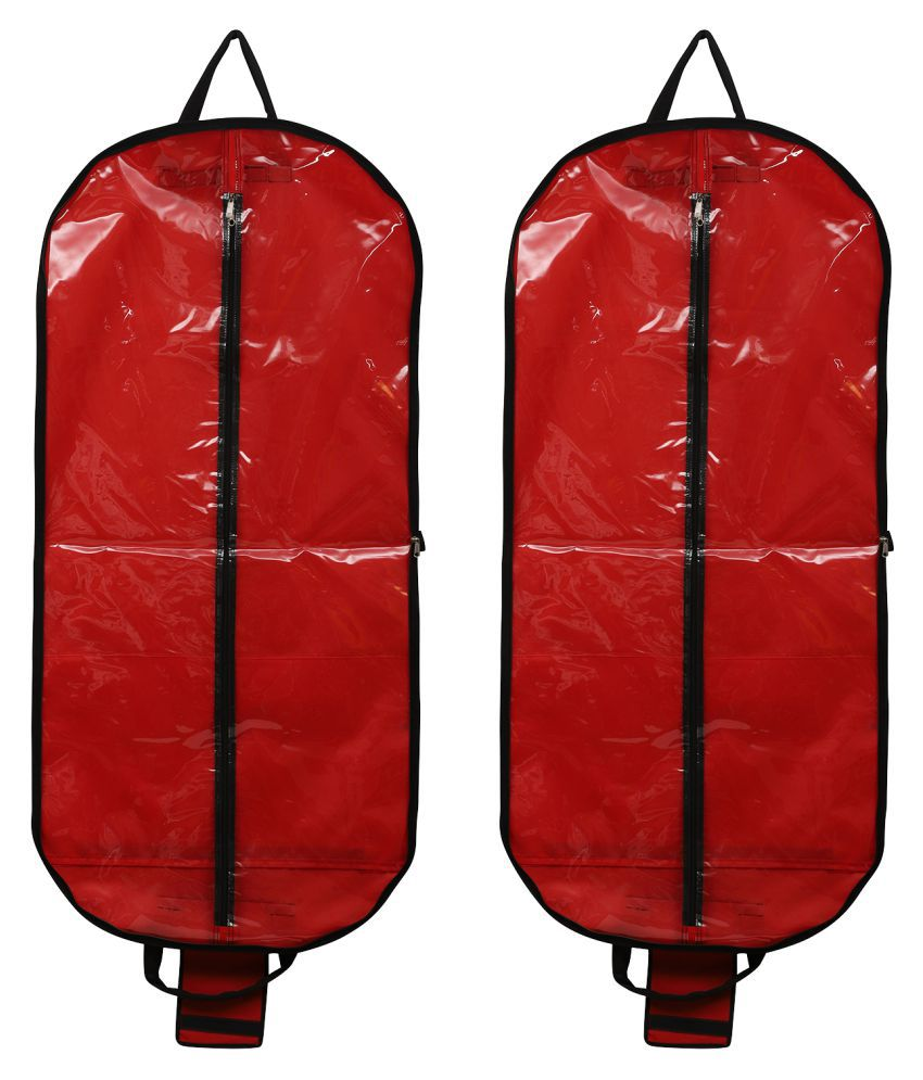 Aashi Red Apparel Covers - 2 Pcs
