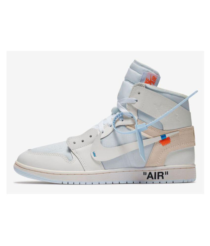 cc49d70d781 Nike AIR JORDAN 1 RETRO HIGH OG X White Basketball Shoes - Buy Nike AIR  JORDAN 1 RETRO HIGH OG X White Basketball Shoes Online at Best Prices in  India on ...