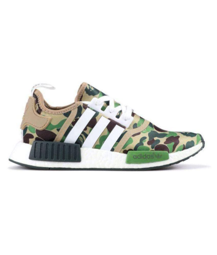 Adidas NMD R1 Army Green Running Shoes - Buy Adidas NMD R1 Army ...