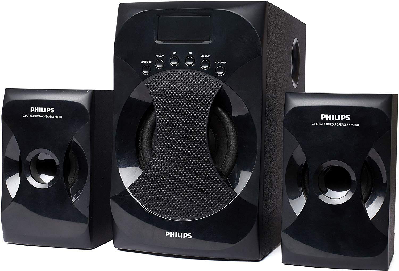 5571d6c8d Philips Explode IN- MMS4040F 94 2.1 Multimedia woofer Speakers - Black ...