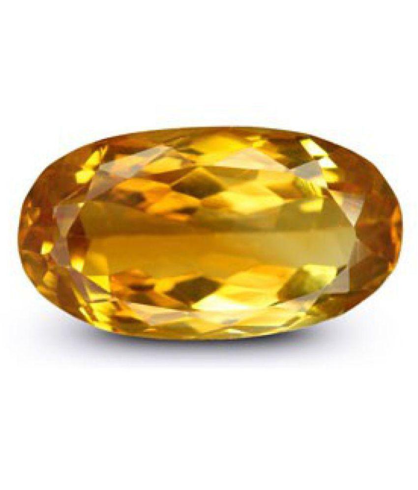 Yellow Citrine - 5.32 carats Natural Agate Gemstone