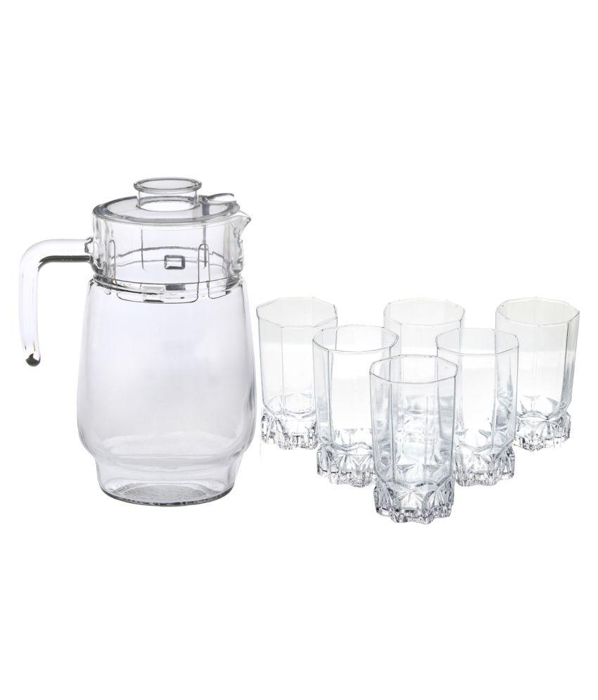 AFAST Glass 300 ml Jugs  amp; Glasses Sets