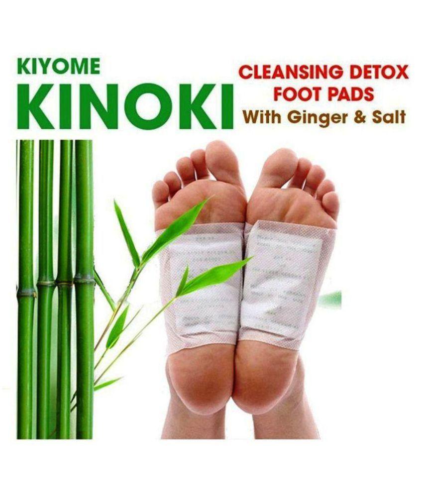 RTB Kinoki Cleansing Detox Foot Pads  10Pcs Free Size