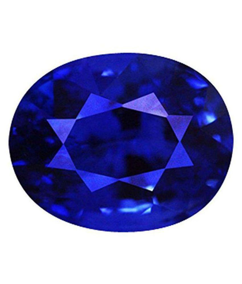 7.25 Ratti Natural Blue Sapphire (Neelam) Unisex Gemstone