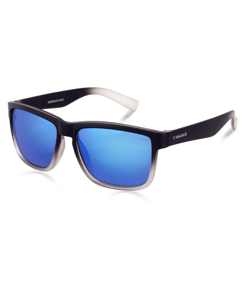 Walrus - Blue Square Sunglasses ( WS-DON-030102 )