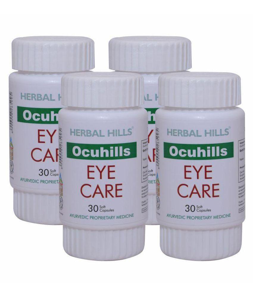 Herbal Hills Ocuhills 30 Capsule - Pack of 4 Capsule 500 mg