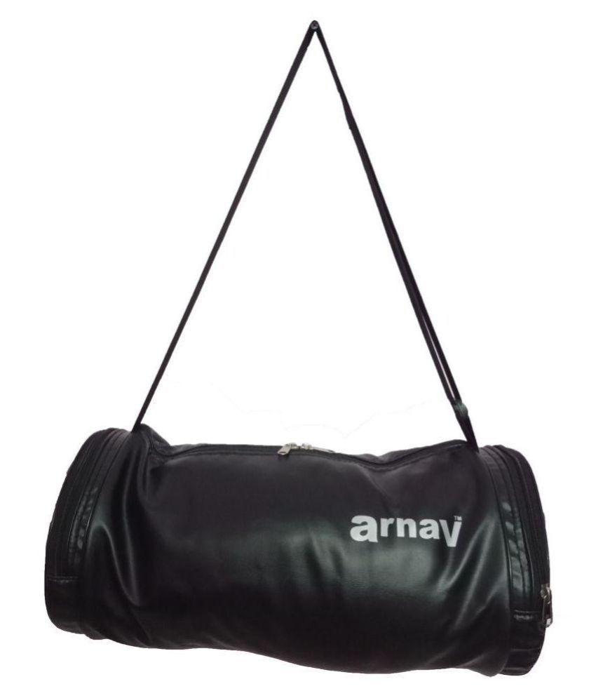 Arnav Medium Leather Gym Bags Travel Bag Travel Luggage Cross Bag Side Bag Shoulder Bag For Men & Women