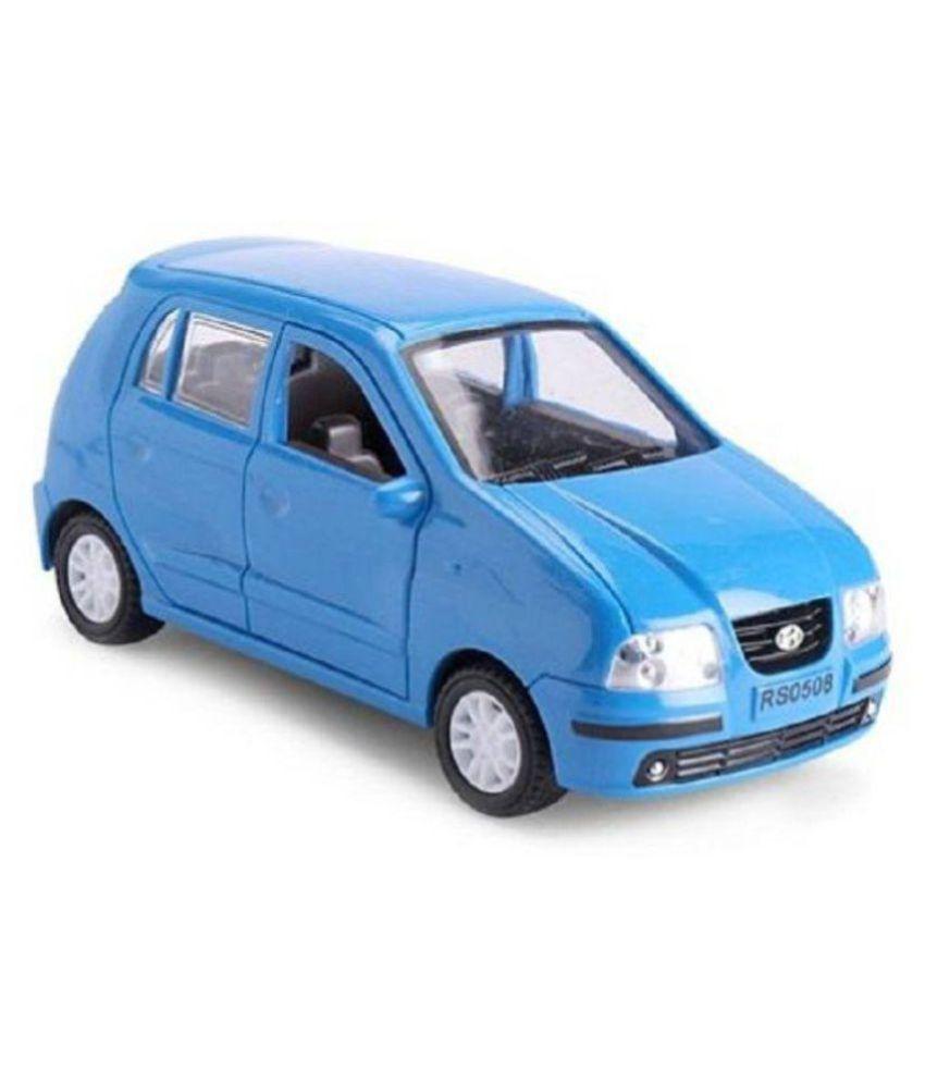 Amazing Hyundai Santro High Speed Pull Back Car Toy Blue ...